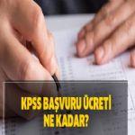 2020 KPSS başvuru ücretleri ne kadar?