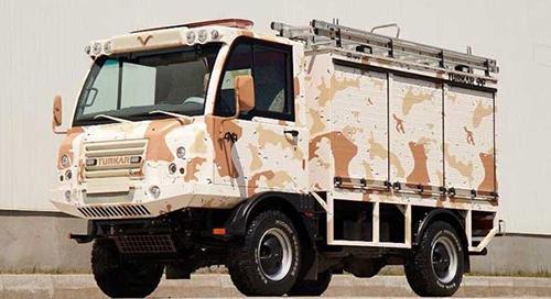 ASTEVO : Askeri itfaiye aracı