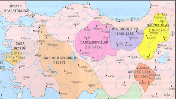 İlk Türk Beylikleri Nelerdir ?