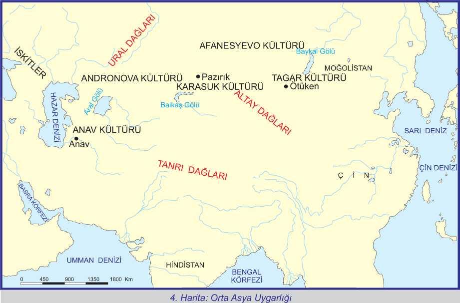 Orta Asya Uygarlıkları nelerdir ?