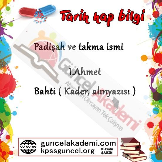 Osmanlı Padişah Lakapları