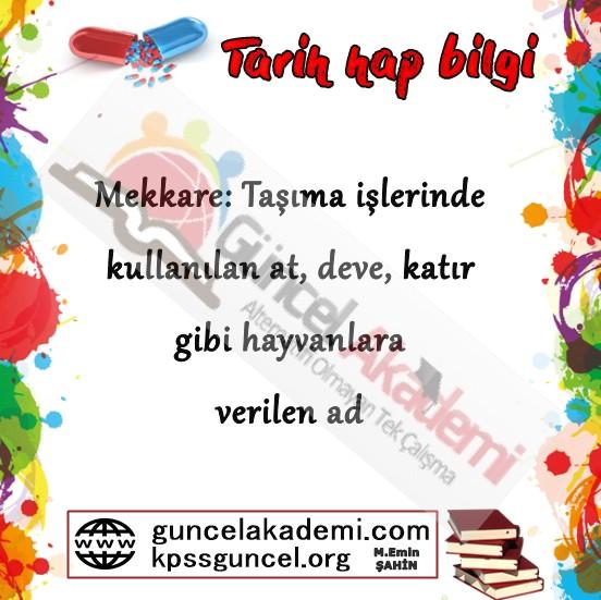 Osmanlı Önemli Kavramlar - 2